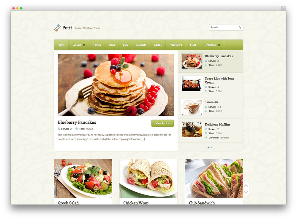 39 Awesome Food WordPress Themes to Share Recipes 2019 - colorlib