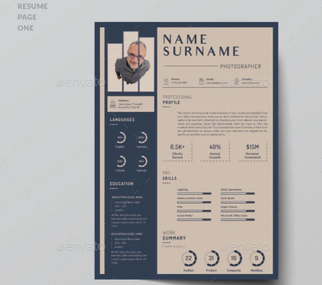 barista resume template download