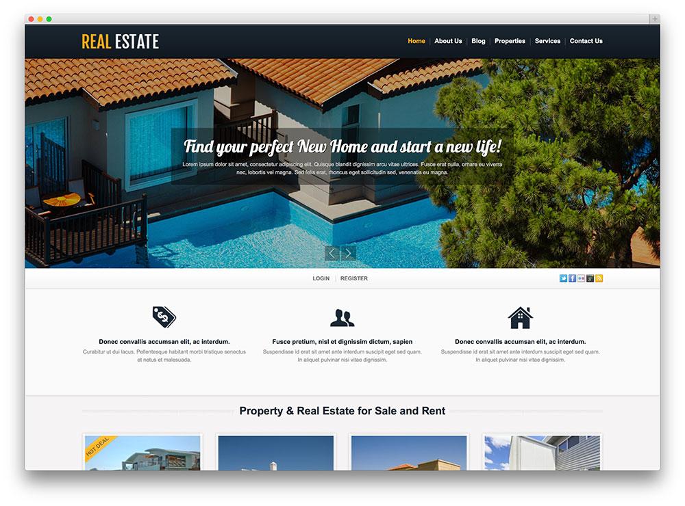 36 Real Estate WordPress Themes for Agents  Realtors 2019 - Colorlib