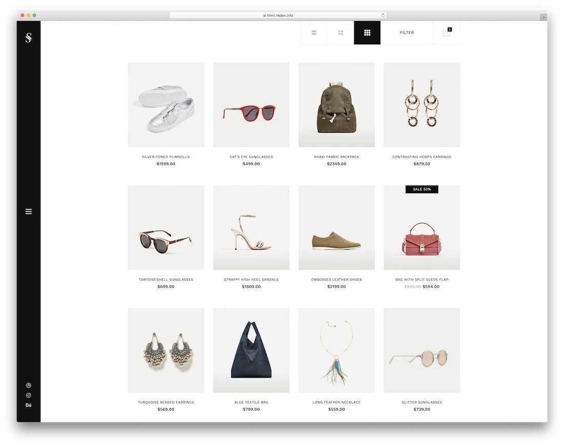 Harga Cat No Drop 2018 29 Ecommerce Website Templates For Top Online Stores 2019 Colorlib