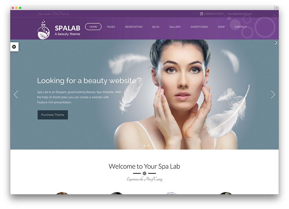 34 Beautiful Spa  Beauty Salon WordPress Themes 2019 - Colorlib