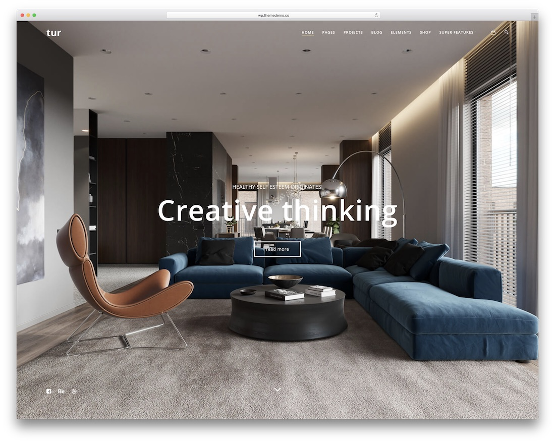 Skandinavisches Interior 13 Best Interior Design Wordpress Themes 2019 Colorlib
