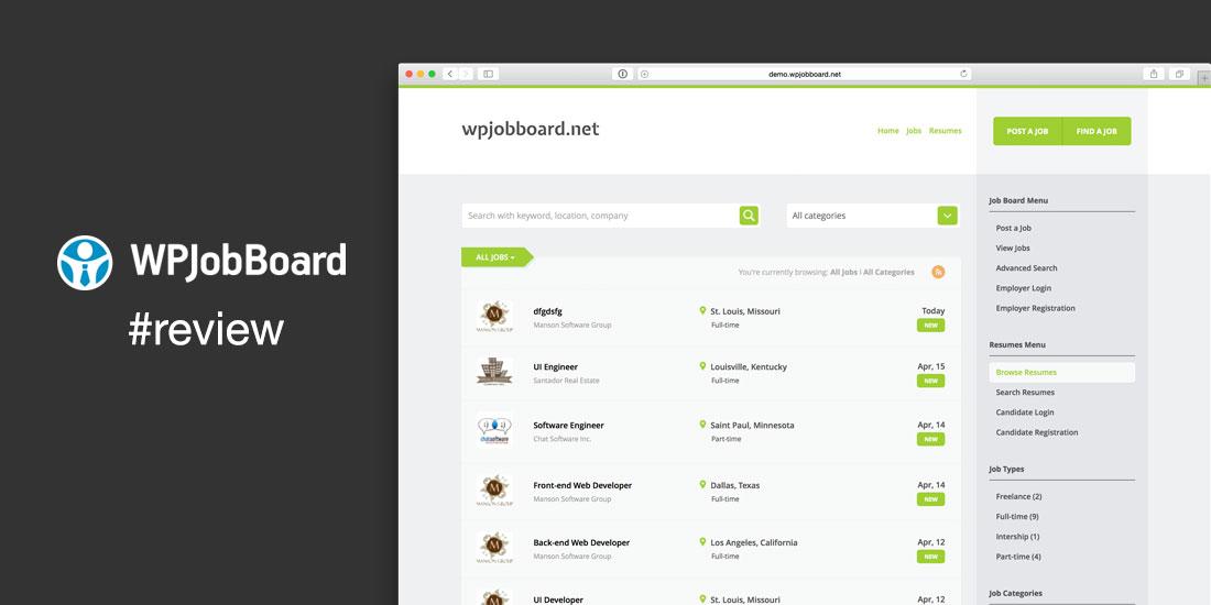 WPJobBoard Plugin Review Build a Job Board Website