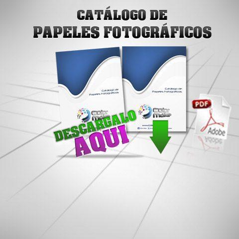 Cat logo de papel fotogr fico colormake for Papeles vinilicos catalogo