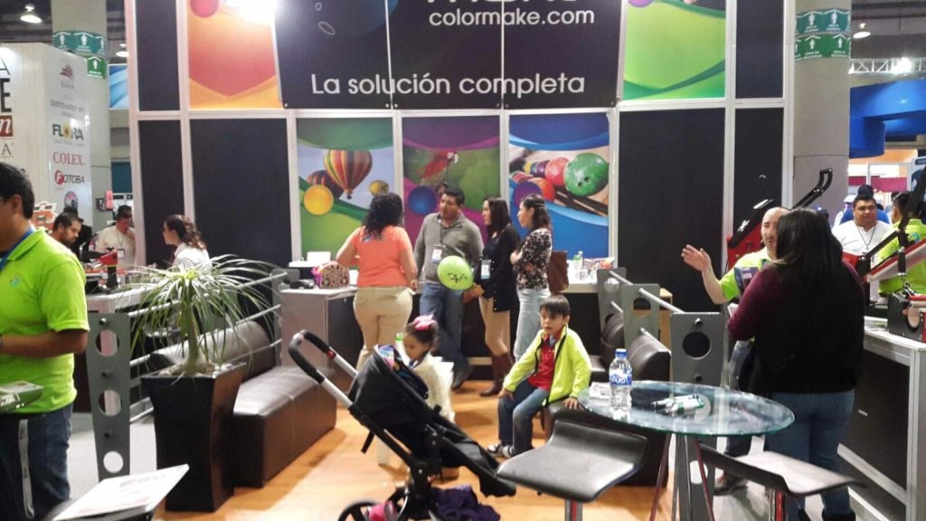 2  Color Make was at Expo Impresión Mexico 2016 2