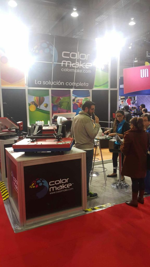 la foto 4-1  Color Make was at Expo Impresión Mexico 2016 la foto 4 1
