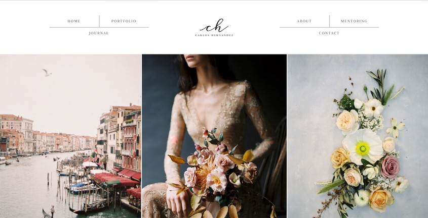 26 Photography Portfolio Examples for Inspiration Colormelon