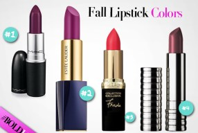 4 Best Lipsticks to Wear this Fall!