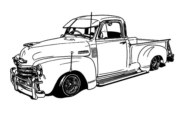 1950 chevy pickup hot rod