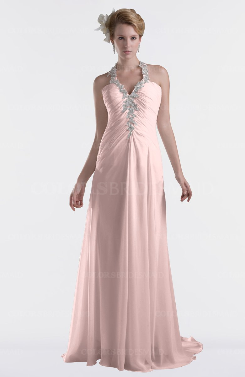 Pastel Pink Bridesmaid Dresses Fashion Dresses
