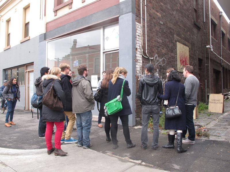 On Foot Art Crawl Colour Box Studio, Footscray, Melbourne