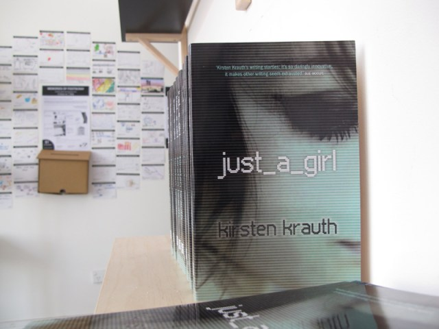 just_a_girl by Kirsten Krauth, novel available at Colour Box Studio