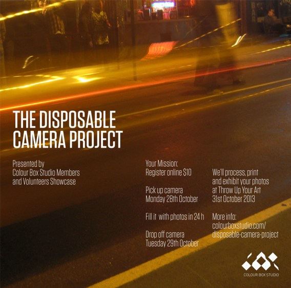 The Disposable Camera Project