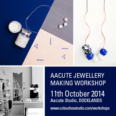 Colour Box Studio workshops- Aacute Jewellery Making