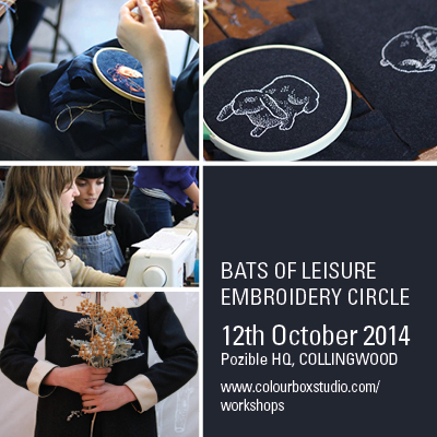 Colour Box Studio Workshops - Bats of Leisure