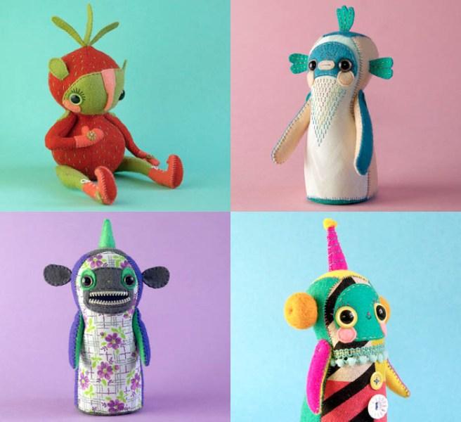 Hannakin dolls by Hanna Mancini