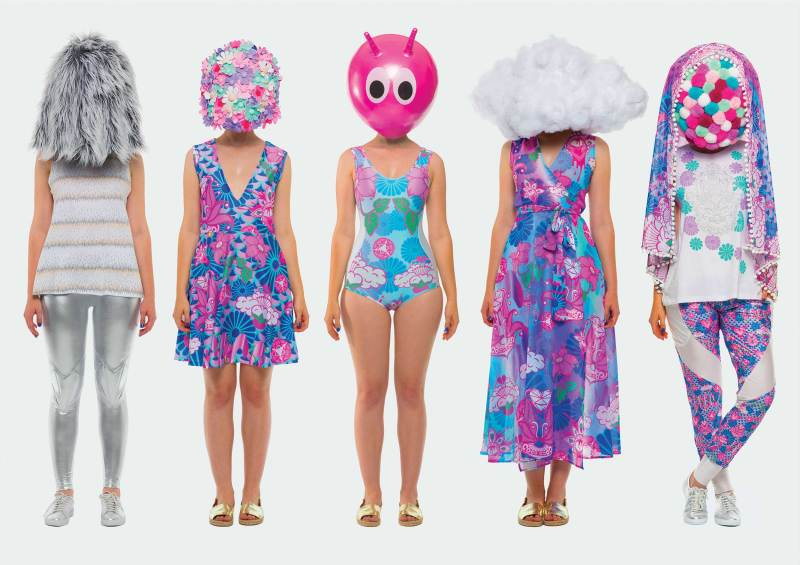 Some of Coco & Max's unique womenswear designs available at #CBSpopup 2016. Image provided.