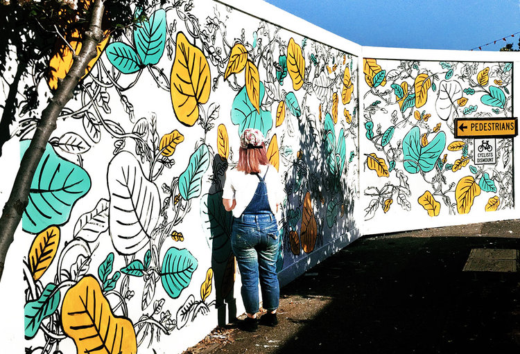 Mural by Designani. Image provided.