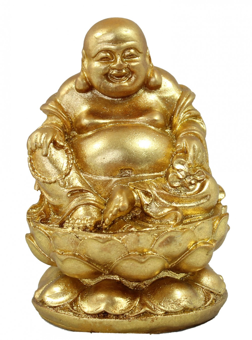 Preiswerte Tv Sessel Dekofigur Buddha 3er Set In Gold Meditation Feng Shui