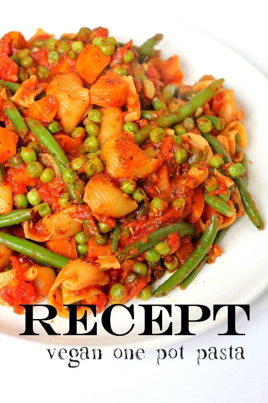 Recept budget vegan eenpanspasta met groenten 2