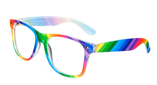 Multi_Colour_Rainbow_Clear_Lens_Wayfarer_Sunglasses_hi_res