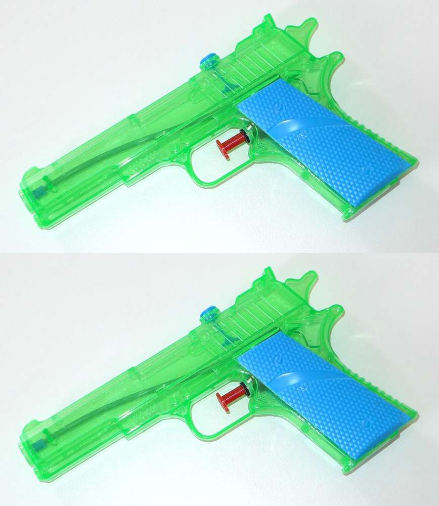2er Set Water Pistol In Legendary Style In 2er Set Duel