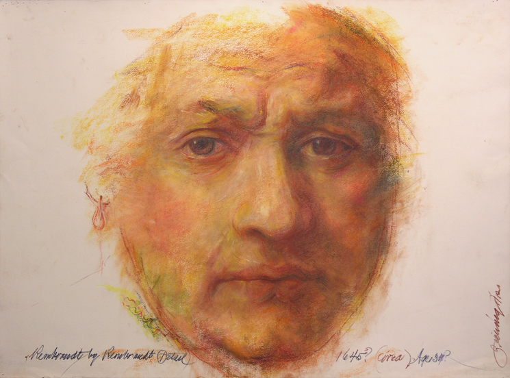 """""""Rembrandt"""" by Bob Ziering. Courtesy of the artist."""