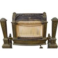 Antique Gas Fireplace Insert
