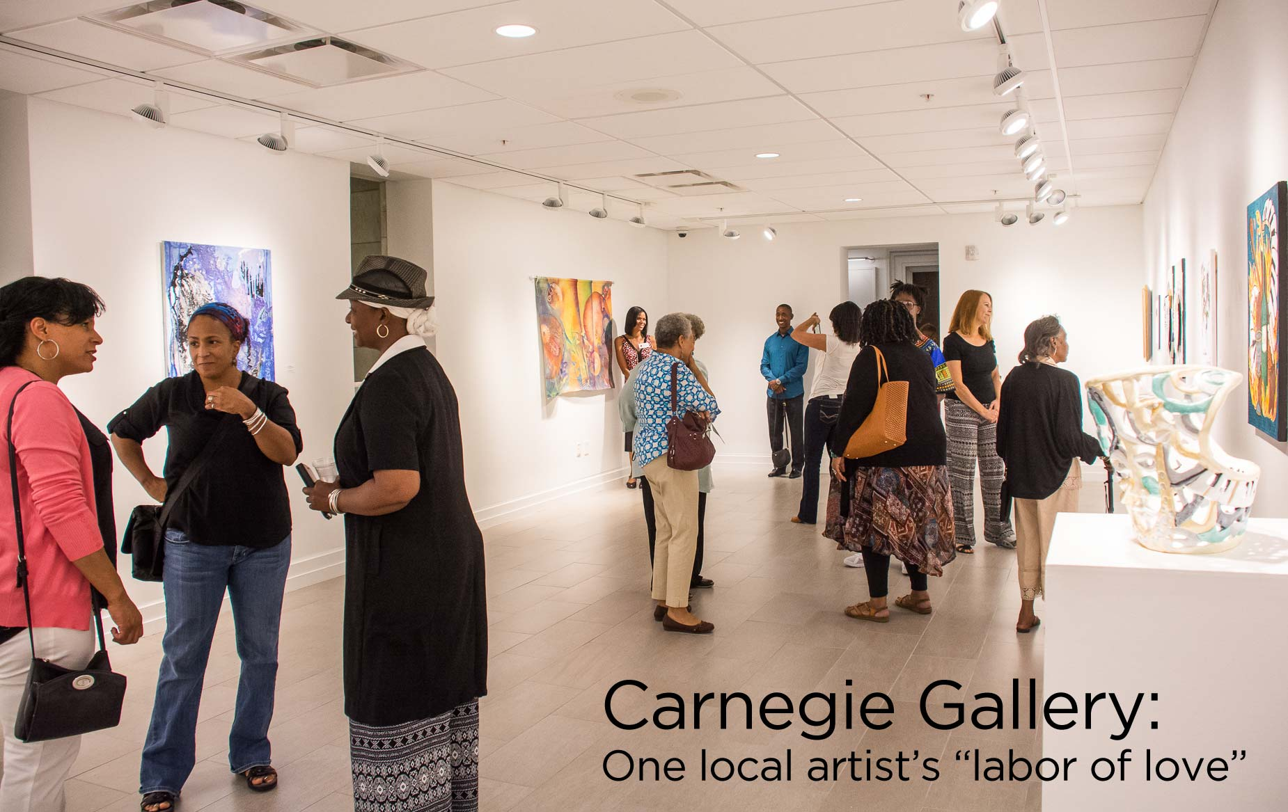 Art Gallery Artist Carnegie Gallery One Local Artist S Labor Of Love Friends Of