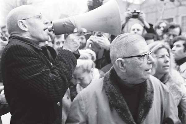 Foucault e Sartre em Maio de 68