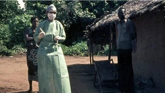 O ebola foi identificado em 1976, no Zaire (Foto: BBC).