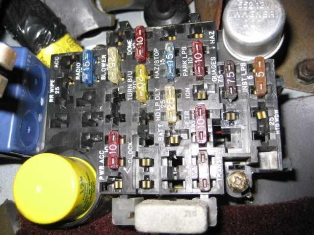 Jeep Comanche Fuse Box standard electrical wiring diagram