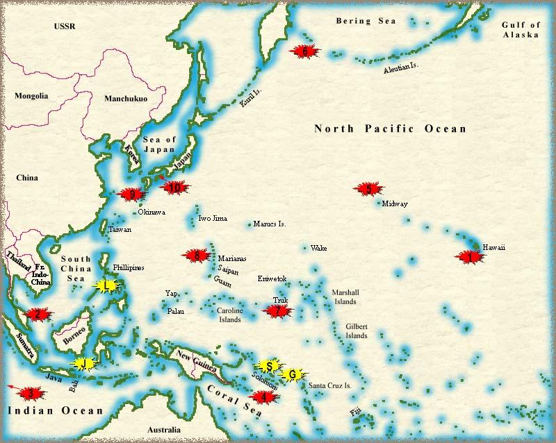 Battles of Ww2 Map World War 2 Battle Maps