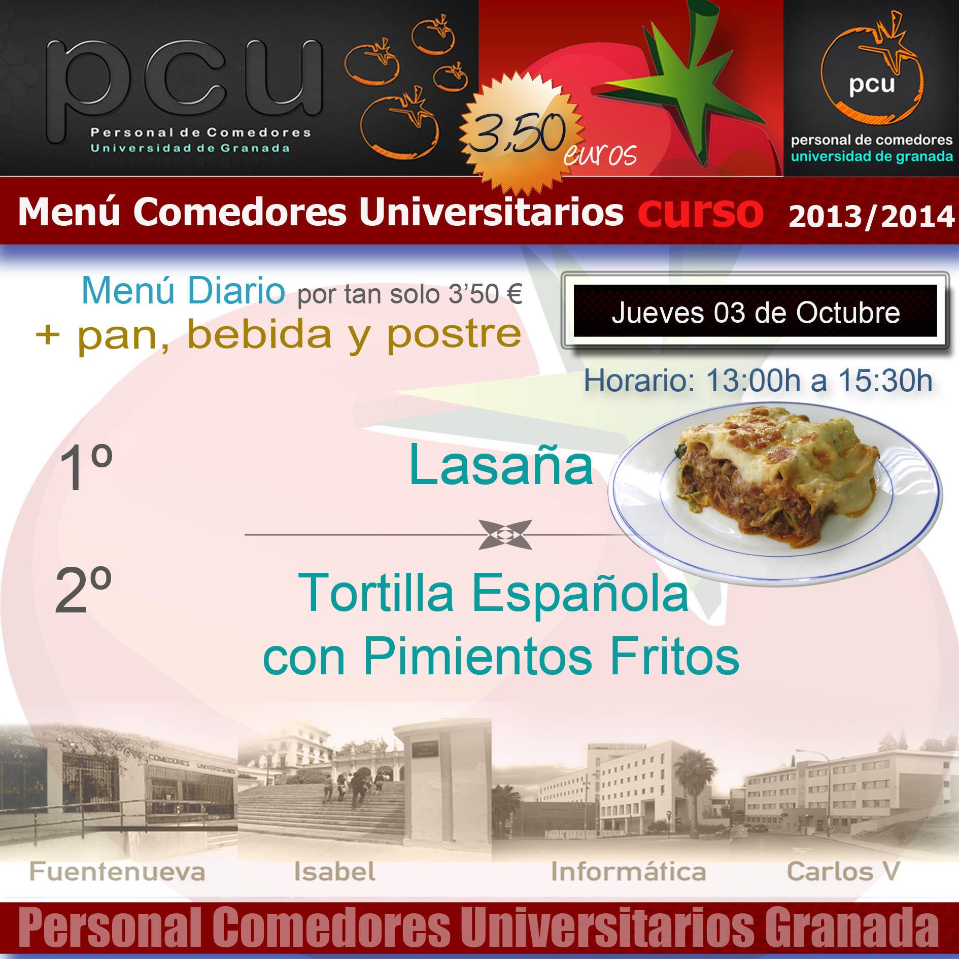 Comedores Ugr.es | Comedores Universitarios Ugr Elegante Comedores ...