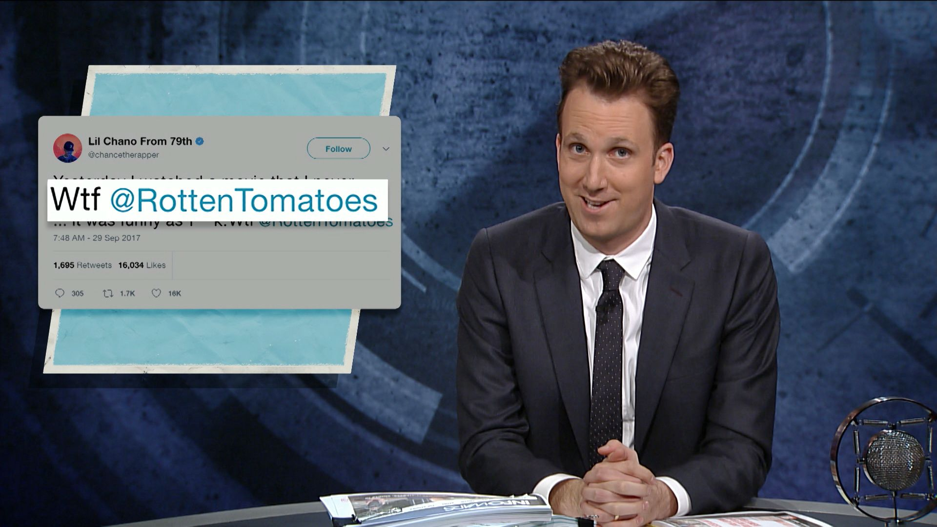 Amusing Jordanklepper Comedy Central Chance Rapper Is Hero America Needs Opposition With Chance Rapper Is Hero America Needs Opposition wedding invitation The Invitation Rotten Tomatoes