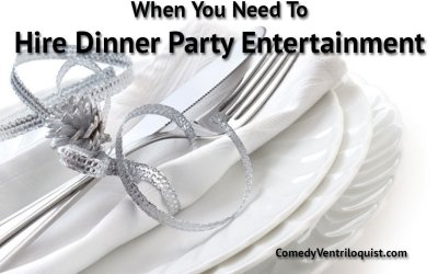Hire Dinner Party Entertainment