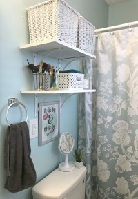 Organizing My Small Bathroom  Come Home For Comfort
