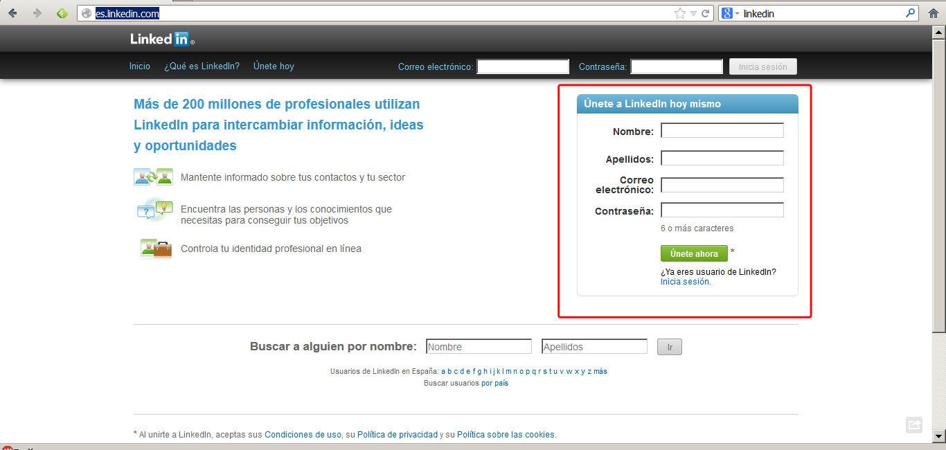 Pasos para crear una cuenta en linkedin | ablaempleo