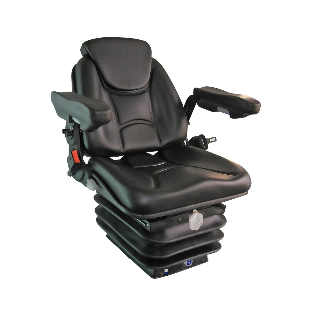 Asientos Para Tractores Asiento Tractor Rm62 210 N Brz Cbz Ctr Pvc Negro