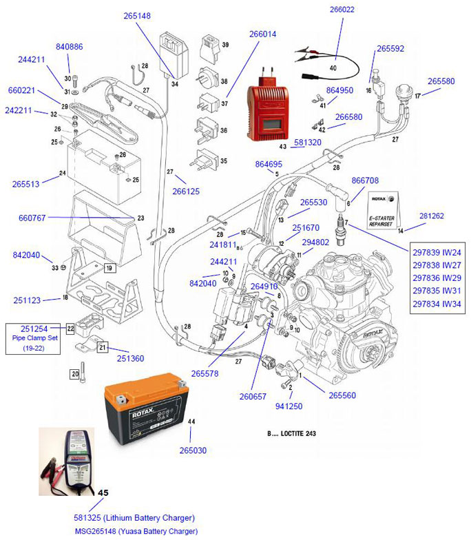 Rotax Max Engine Parts  2-Cycle Engine Parts  Engines  Parts