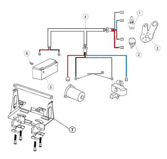 1 PRD-5141 Push/Pull Switch  PRD Electrical, Wiring Harness Parts