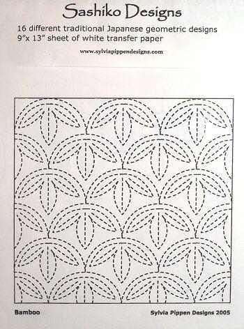 Best Sashiko Embroidery Tutorials \ Projects Sashiko embroidery - border templates word