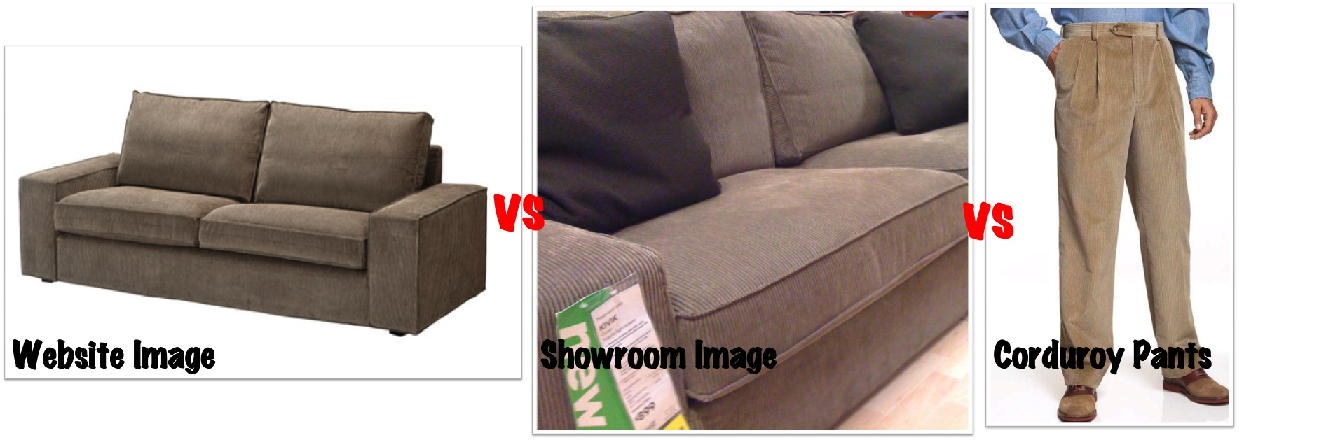 Corduroy 3 Seater Sofa Ikea Kivik Sofa Series Review Comfort Works Blog Design