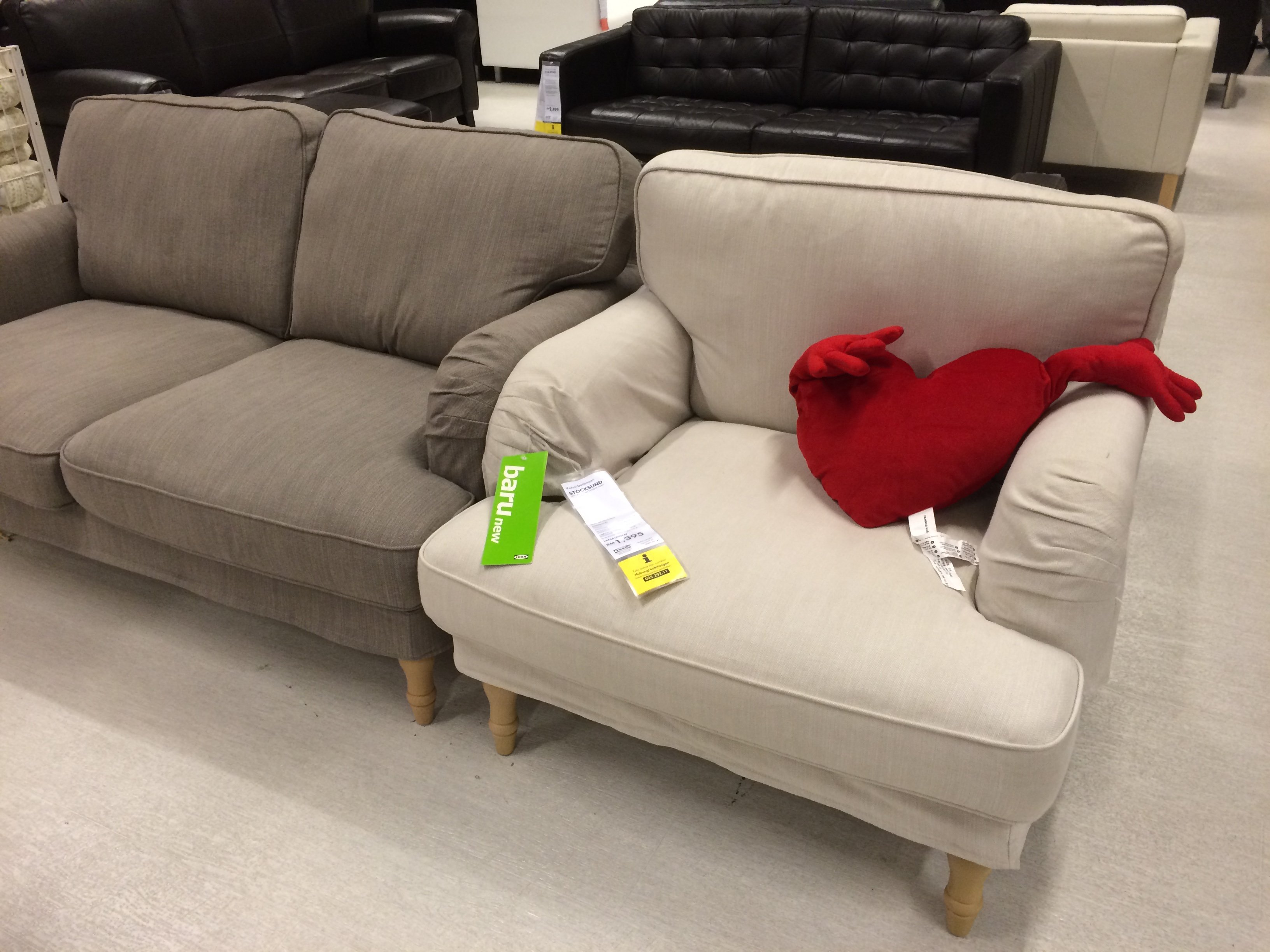 2er Sofas Ikea Stocksund Sofa Series 2014 Review New At Ikea