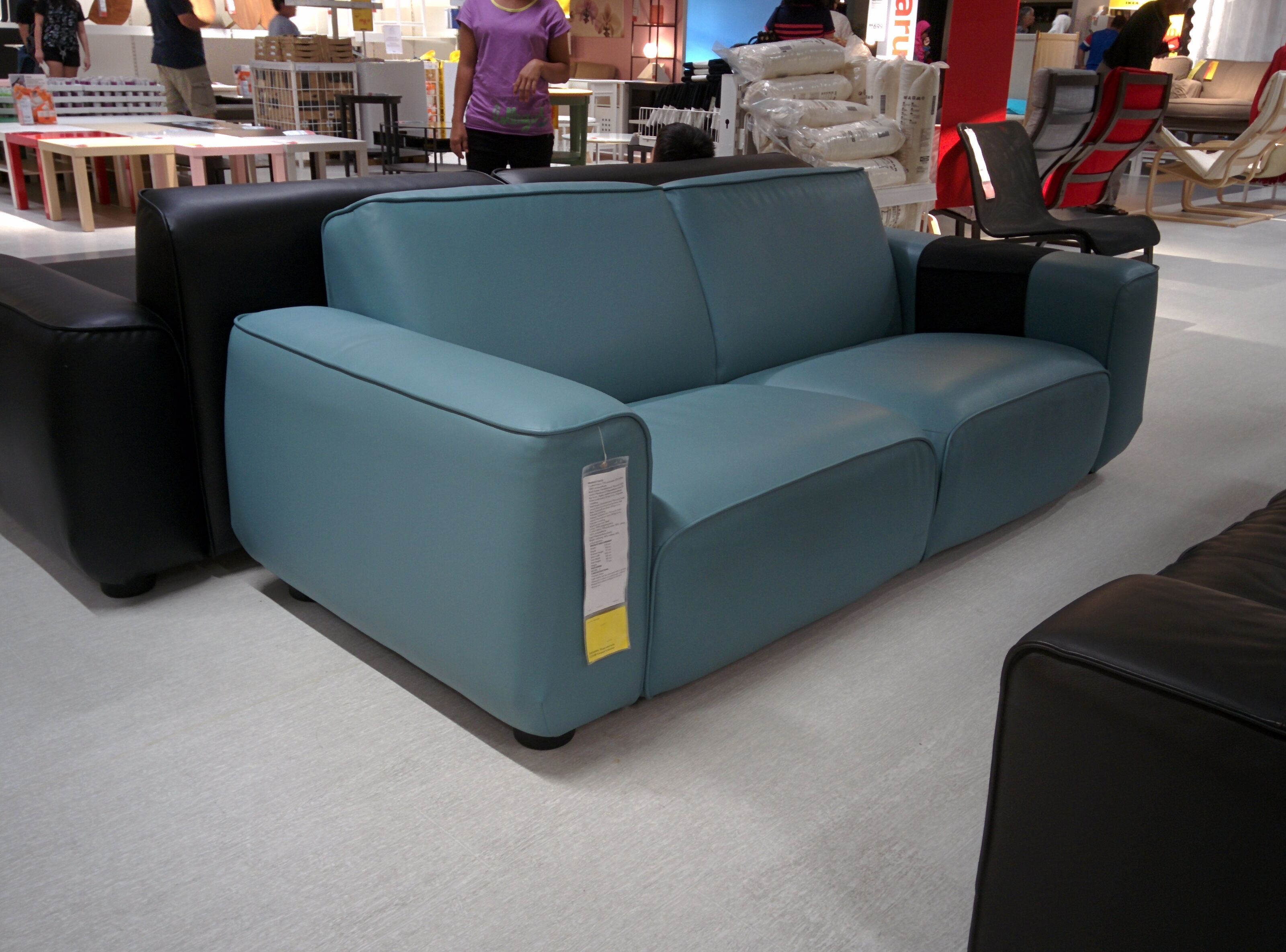 Bettsofa Ikea Blau The Dagarn Ikea Sofa Review