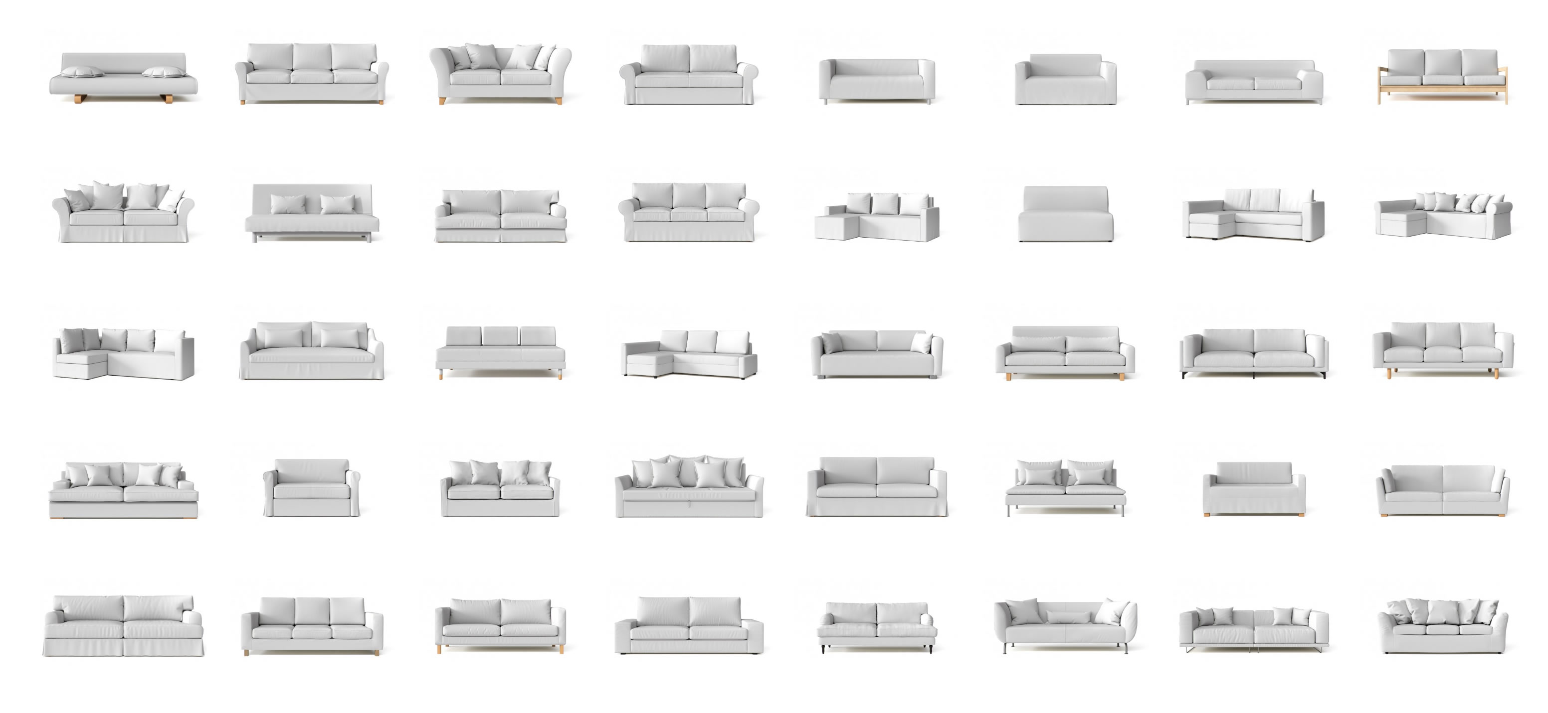 Classic Sofa Style Names 21 Different Types Of Sofas And Slipcoverability What S Mine