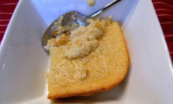 Creamed Corn Pudding Casserole Recipe \\ ComfortablyDomestic.com