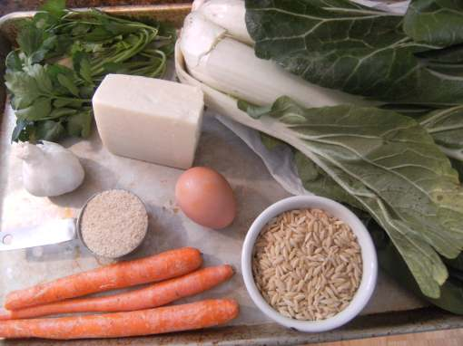 Ingredients for Turkey Meatball Soup