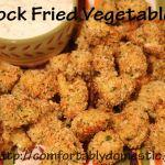 Lighten Up! (Not Really) Fried Vegetables