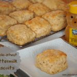 Dancing it Out and Mixin' it Up with Whole Wheat Buttermilk Biscuits